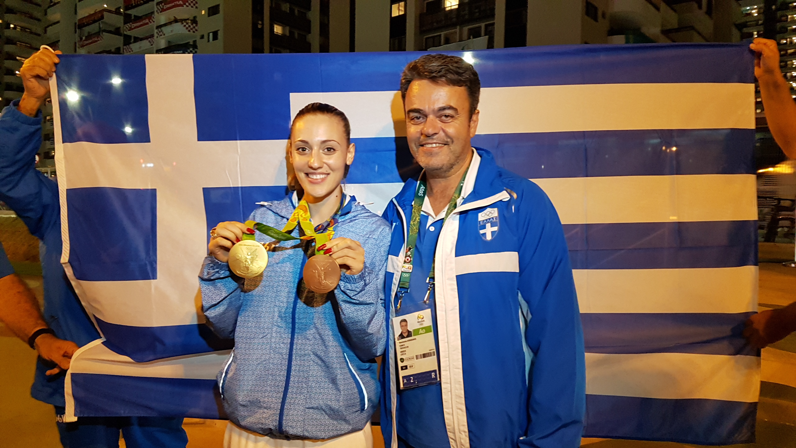 Άννα Κορακάκη Χρύσό και Αργυρό Μετάλλιο στο Ρίο 2016